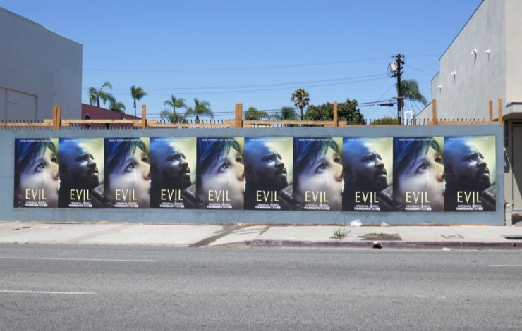 Evil series launch posters