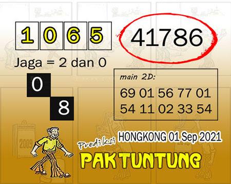 Syair HK Rabu 01 September 2021 -