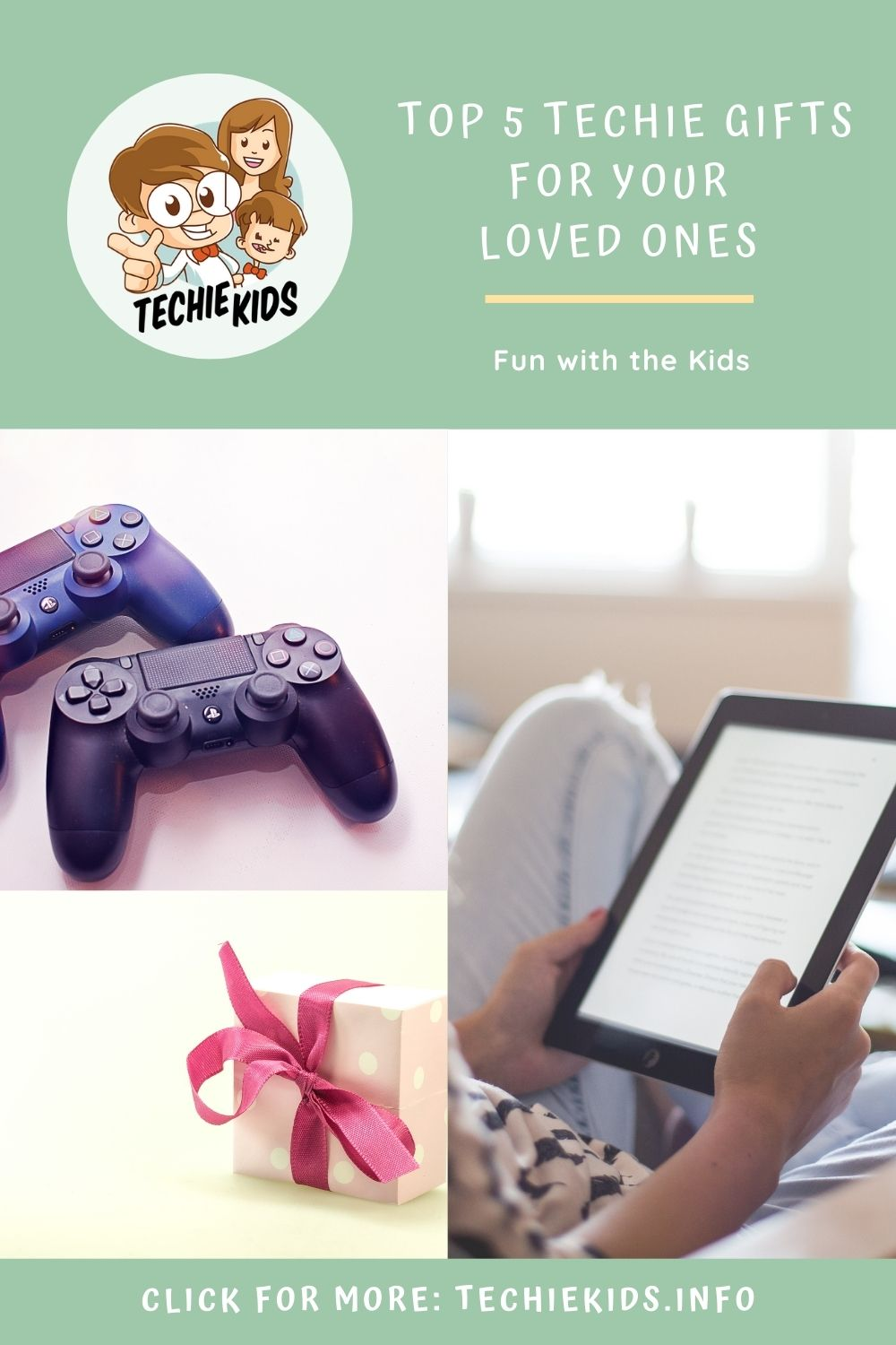 Top 5 Techie Gifts for your Loved Ones and More