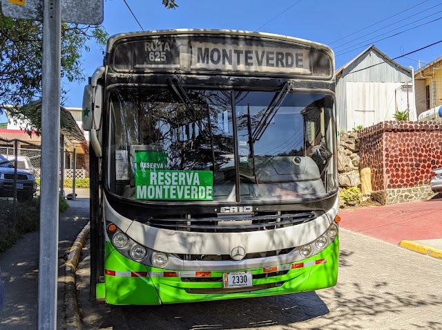 Costa Rica Itinerary: Public Bus to Reserva Monteverde