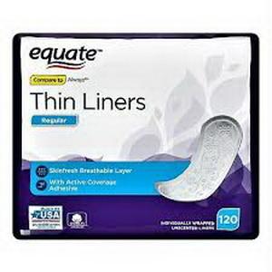 Băng Vệ Sinh Dùng Hàng Ngày Equate Thin Liners Hàng Xách Tay Từ Mỹ
