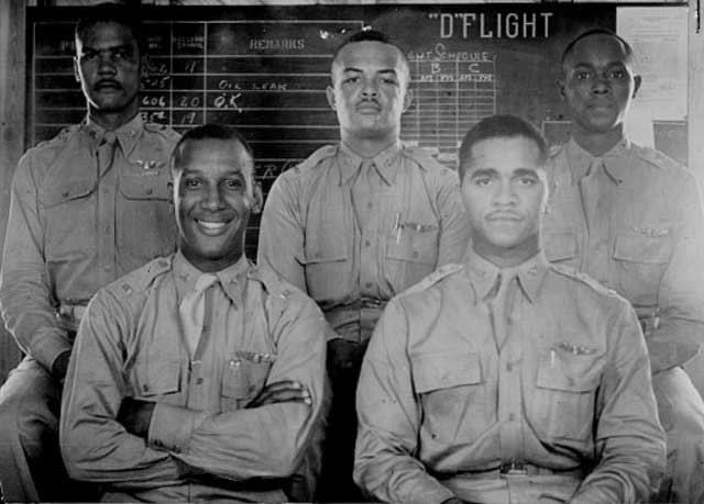 First Tuskegee airmen graduates, 7 March 1942 worldwartwo.filminspector.com