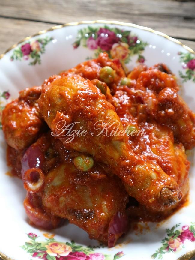 Nasi Minyak Dan Ayam Masak Merah Sangat Sedap A Keeper Recipe Azie Kitchen
