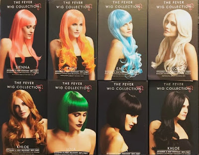 Heat Resistant Styleable Wigs by The Fever Wig Collection