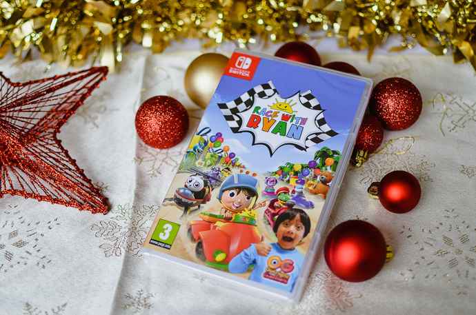gamer kids gift guide, Nintendo Switch games, Race with Ryan