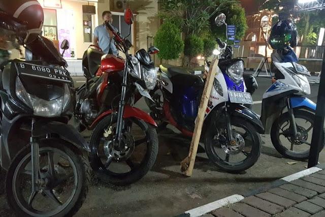 Ancam Polisi Pakai Pisau, Pencuri Motor di Tangerang Ditembak