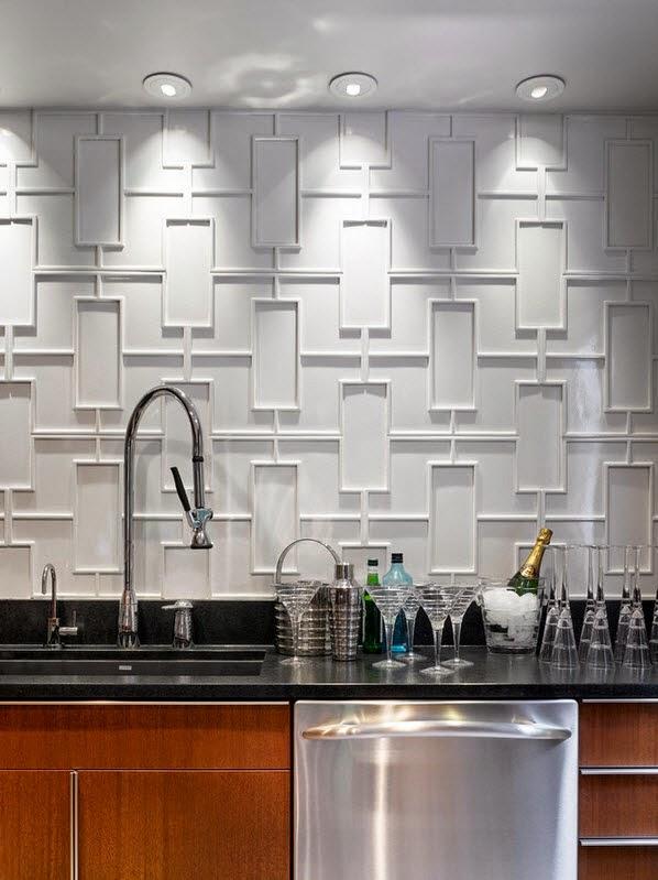 Tips Dekorasi Dinding Dapur Mungil 2