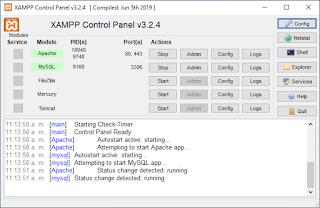 Instalar y Configurar XAMPP MYSQL