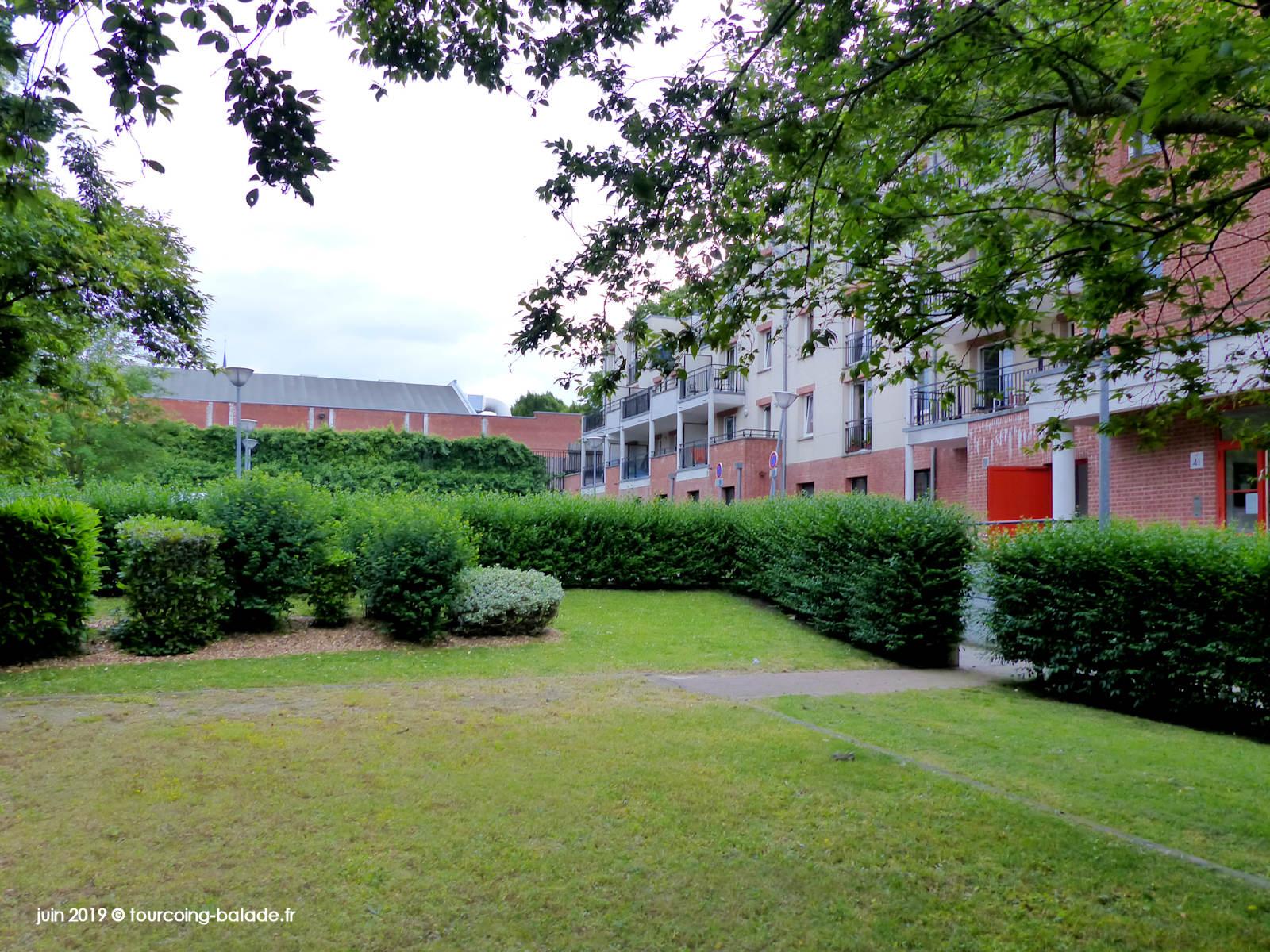 Jardin Résidence Turenne, Tourcoing