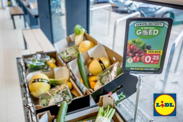 سلسلة متاجر ليدل في هولندا تطرح منتجات غذائية مقابل 25 سنت