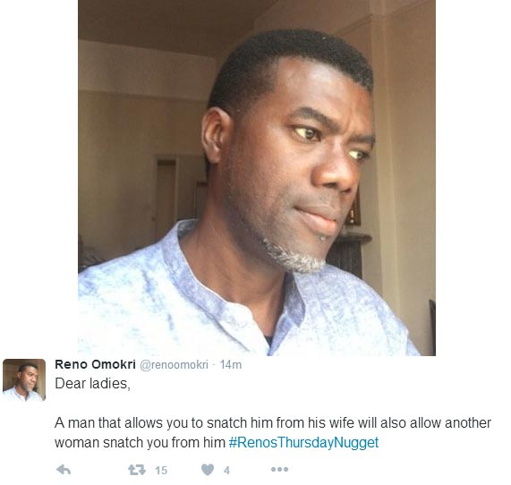 Reno Omokri supports Pastor Adeboye, offers advice to workers