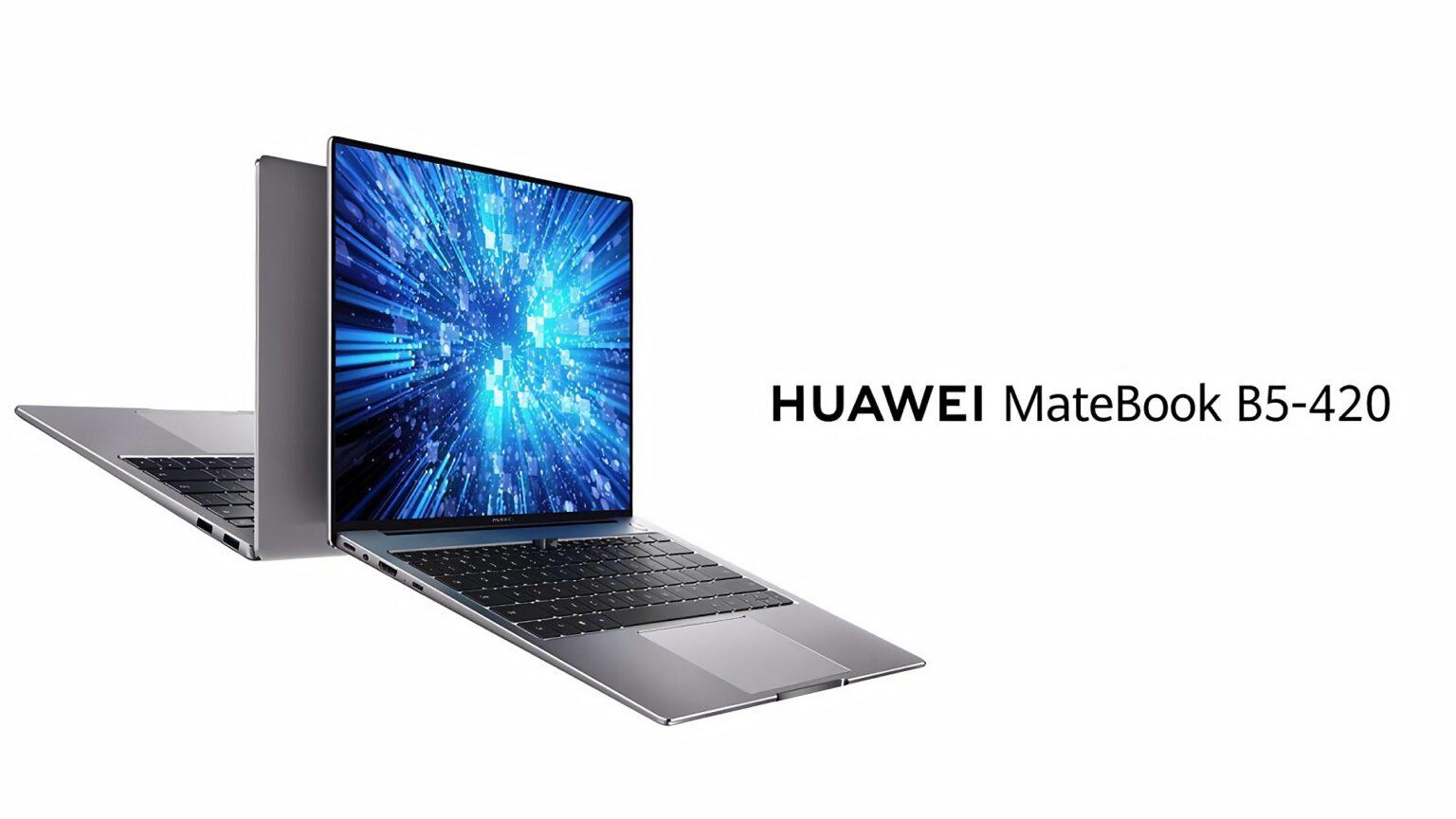 haceb.net...شركة Huawei تطلق أجهزة MateBook B المصممة من أجل الأعمال! 2020
