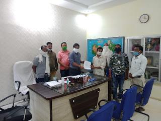 भीम आर्मी भारत एकता मिशन के पदाधिकारीयो ने एसडीएम महोदय को दिया ज्ञापन