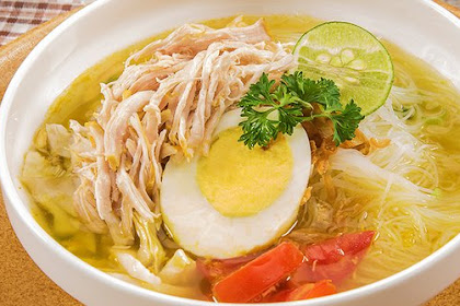 Resep Soto Ayam Nusantara