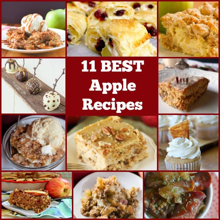 11 Of The Best Apple Recipes! serenabakessimplyfromscratch.com