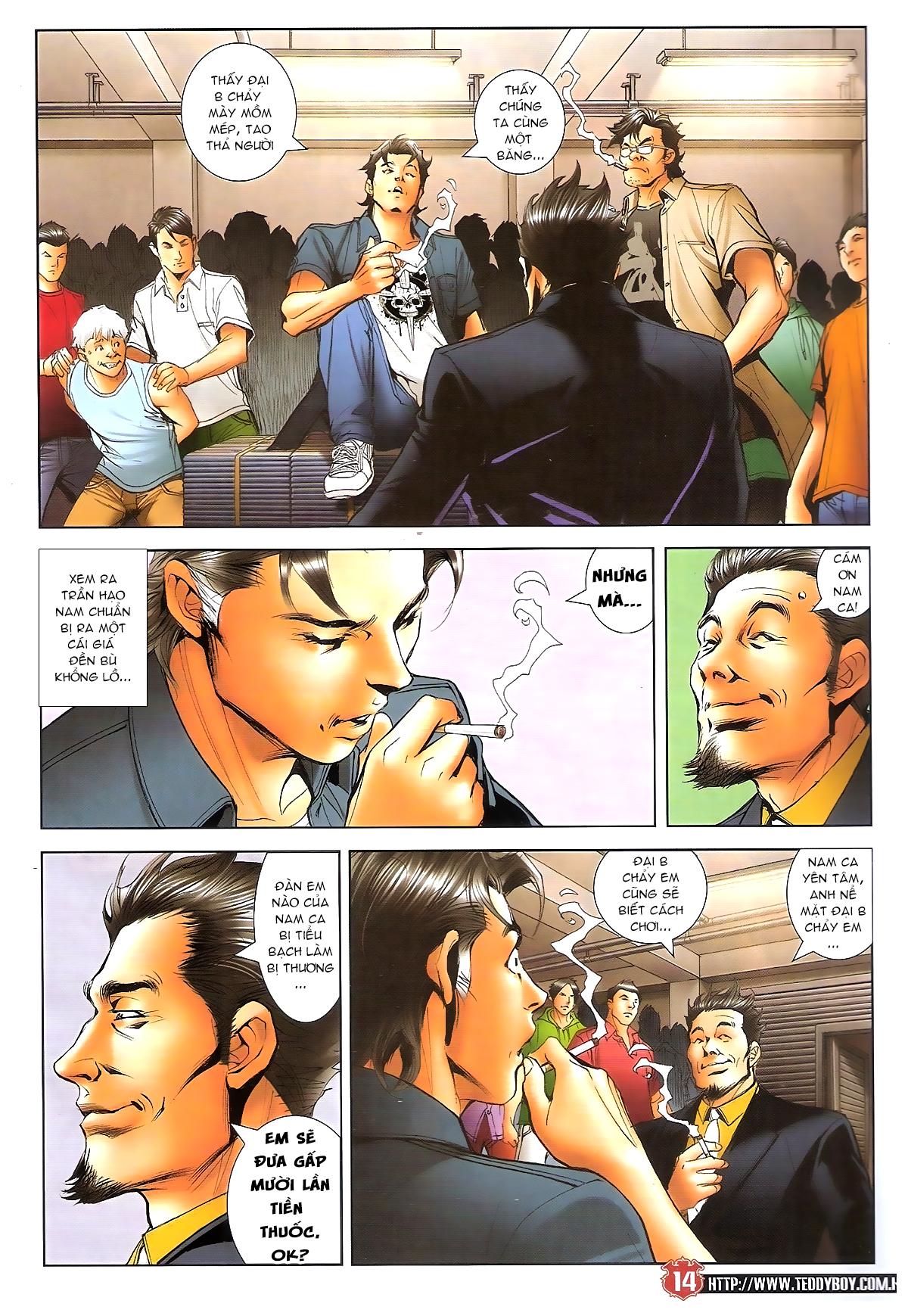 Người Trong Giang Hồ chapter 1641: lão tưởng trang 13