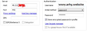 cara menggunakan account ssh pada bitvise