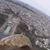 Here's A View Of Paris You've Never Seen Before… From The Back Of An Eagle!