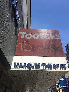 Tootsie Musical Marquis Theatre Broadway New York City