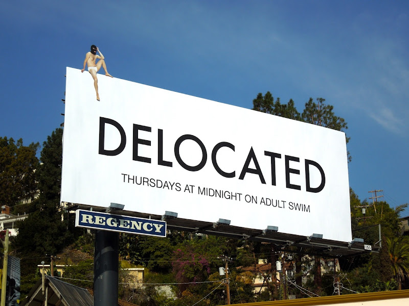 Delocated season 3 billboard