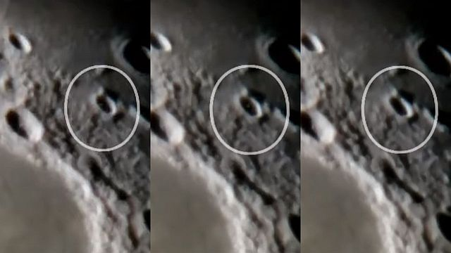 UFO News ~ UFO emerging from a crater on the moon plus MORE Ufo-crater-moon
