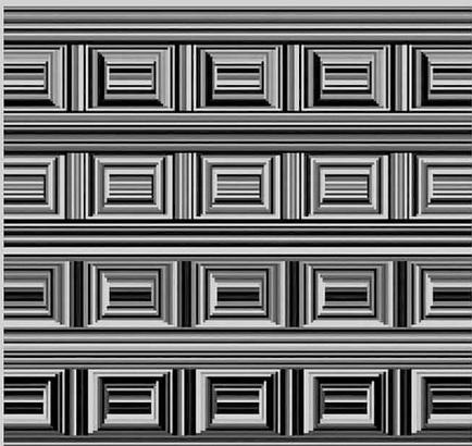 A imagem do desafio dos círculos