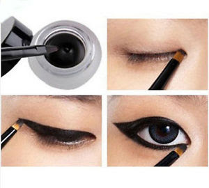 how to make eyeliner and kajal at home easily in urdu