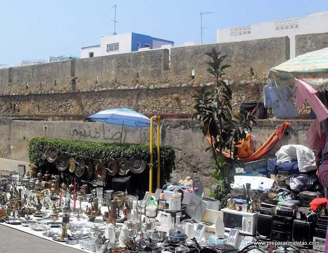 comprar y regatear en zocos Marruecos