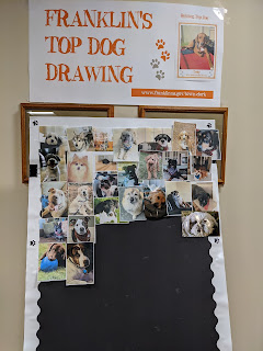 Franklin's Top Dog Drawing entries as of 1/29/20