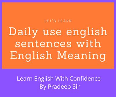 hindi sentences