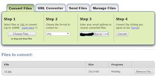 Cara Mudah Convert Berbagai Macam Type File Secara Online