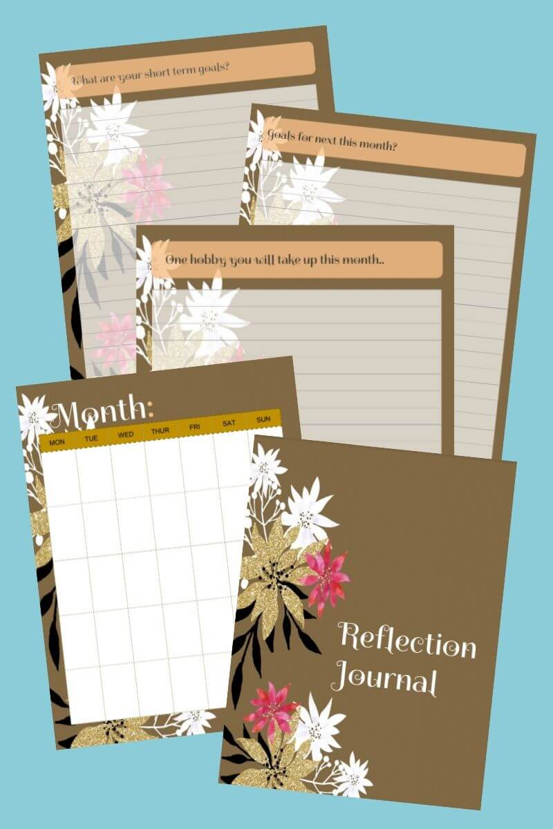 reflection journal printables