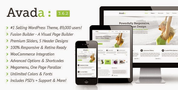 Avada v3.6.2 Responsive Multi-Purpose Theme