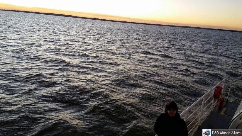 passeio de catamarã pelo lago de Itaipu - Foz do Iguaçu