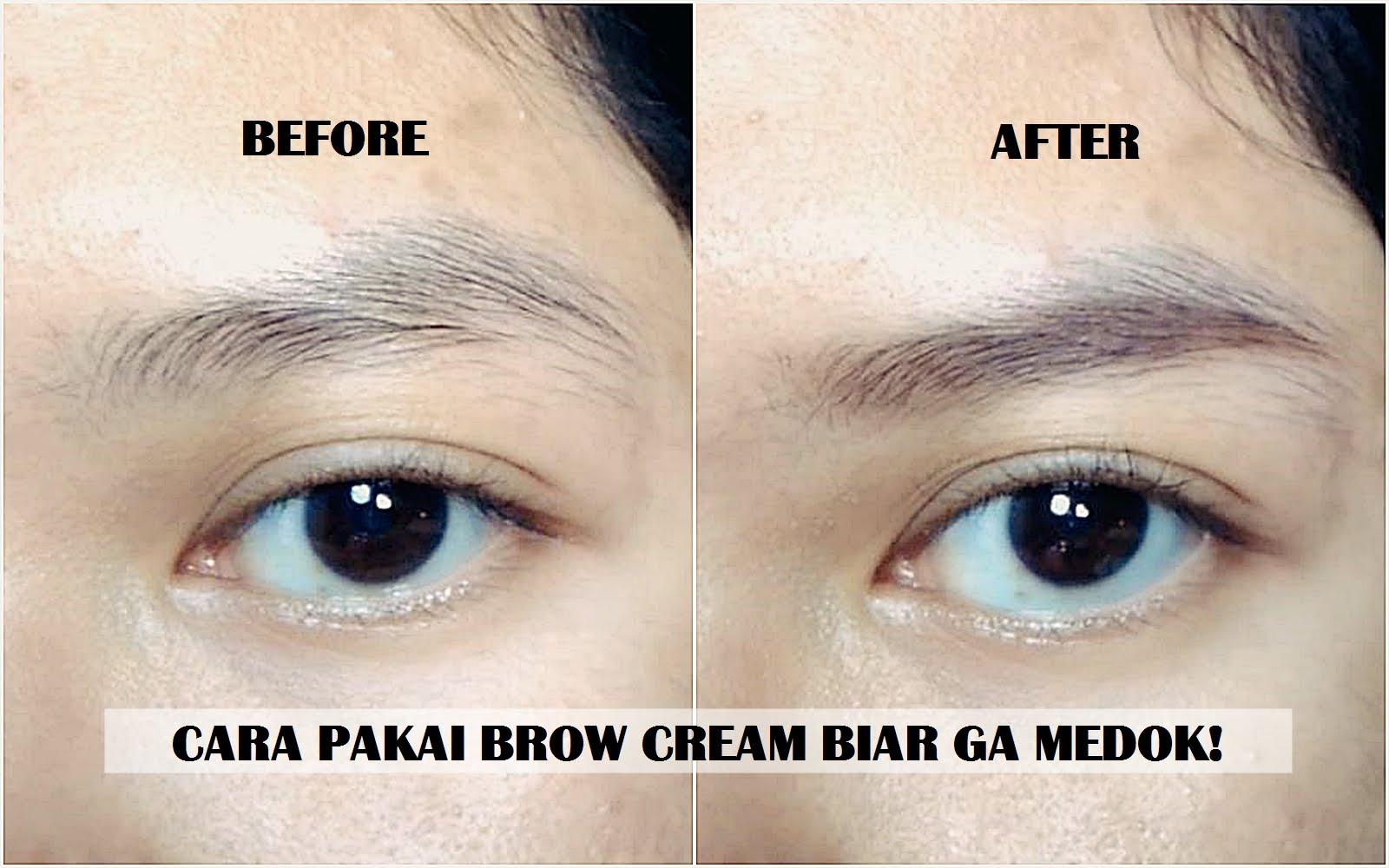 Tutorial Cara Pakai Eyebrow Cream Eyebrow Pomade Biar Ga Kayak Sinchan The Pretty Tales