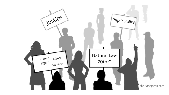 Reasons for revival of natural Law theory in 20th Century