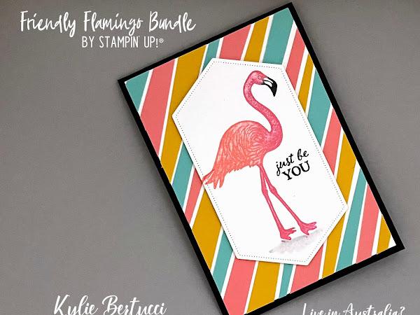 Maui Trip Achievers Blog Hop January 2021   Friendly Flamingo Bundle