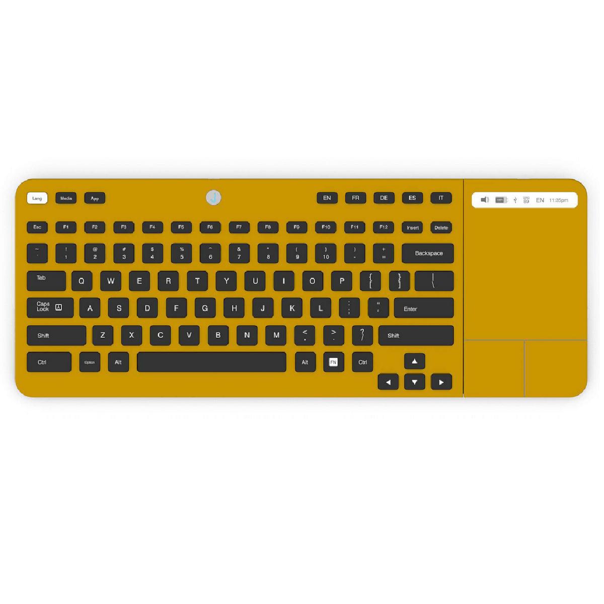 Un clavier qui utilise la technologie E-ink, l'encre électronique.