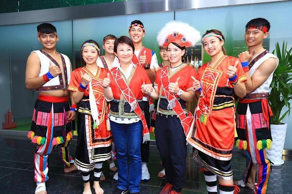 8月1日原住民族日 台中市府感謝原民族在奧運綻放光芒
