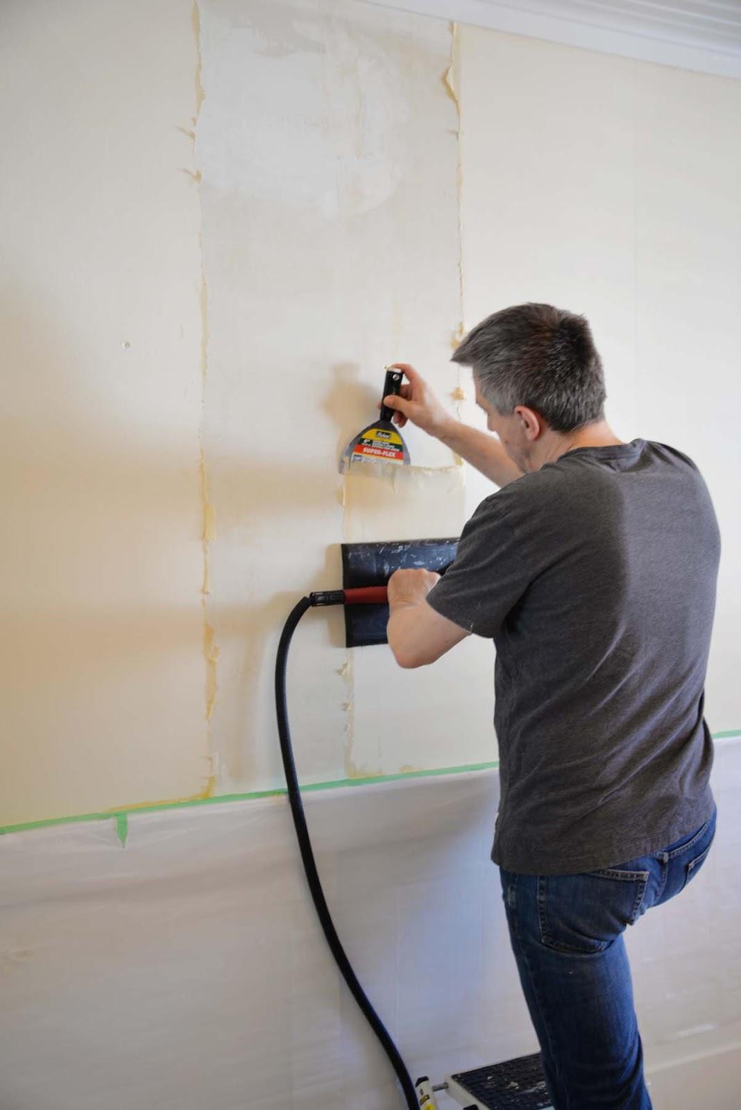wallpaper removal, wallpaper steamer, removing wallpaper