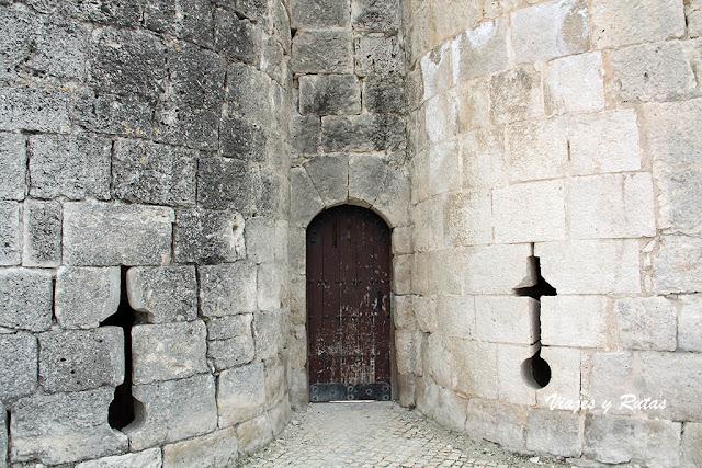 Entrada a la Torre del homenaje del Castillo de Íscar, Valladolid