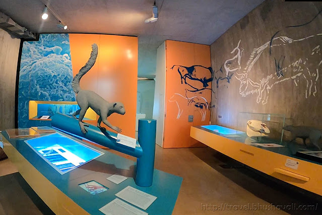 Grube Messel Besucherzentrum Visitors Centre