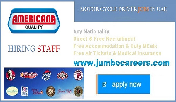 Delivery Boy Jobs Dubai