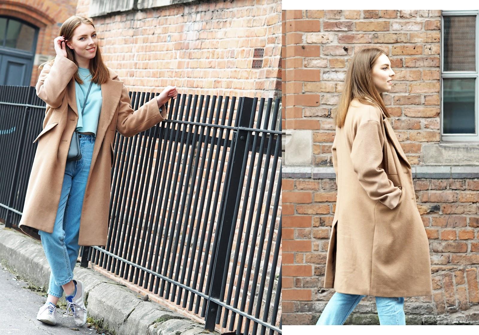 longline camel coat