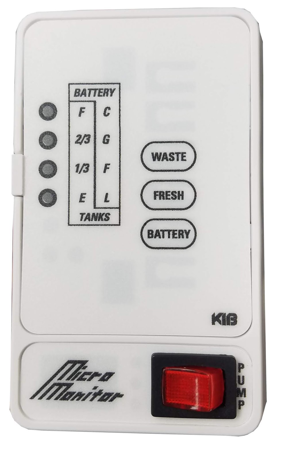 Class A Customs Ventline Monitor Panel Wiring Diagram Kib 2 Tank Monitoring For Fresh And Waste Water