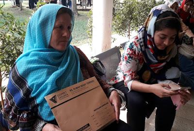 pasien dari afganistan di RST dompet dhuafa