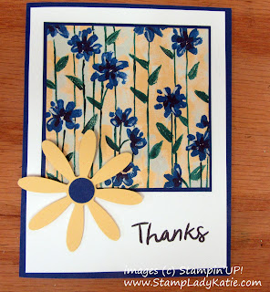 Card made with Stampin'UP!'s Daisy Punch