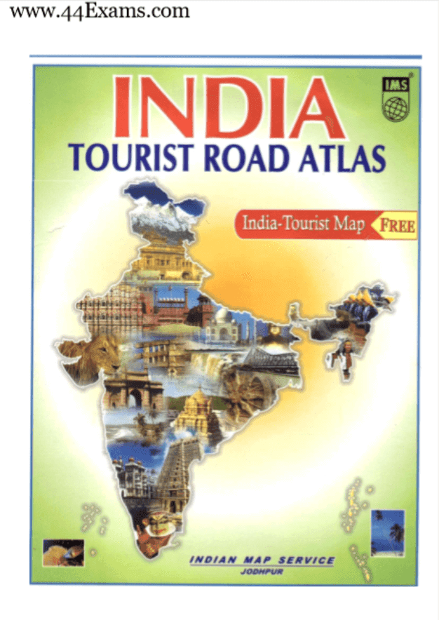 Atlas-India-Tourist-Map-For-All-Competitive-Exam-PDF-Book