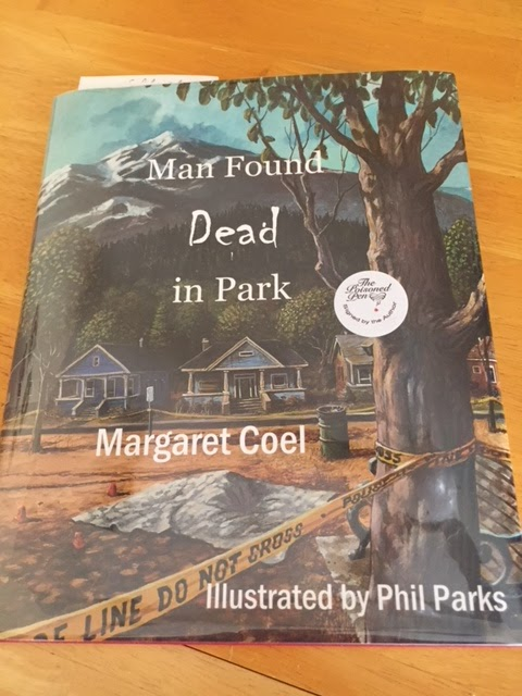 Lesas book critiques man found dead in park by margaret coel that doesnt mean she said goodbye to her characters in her illustrated novella man found dead in fandeluxe Document
