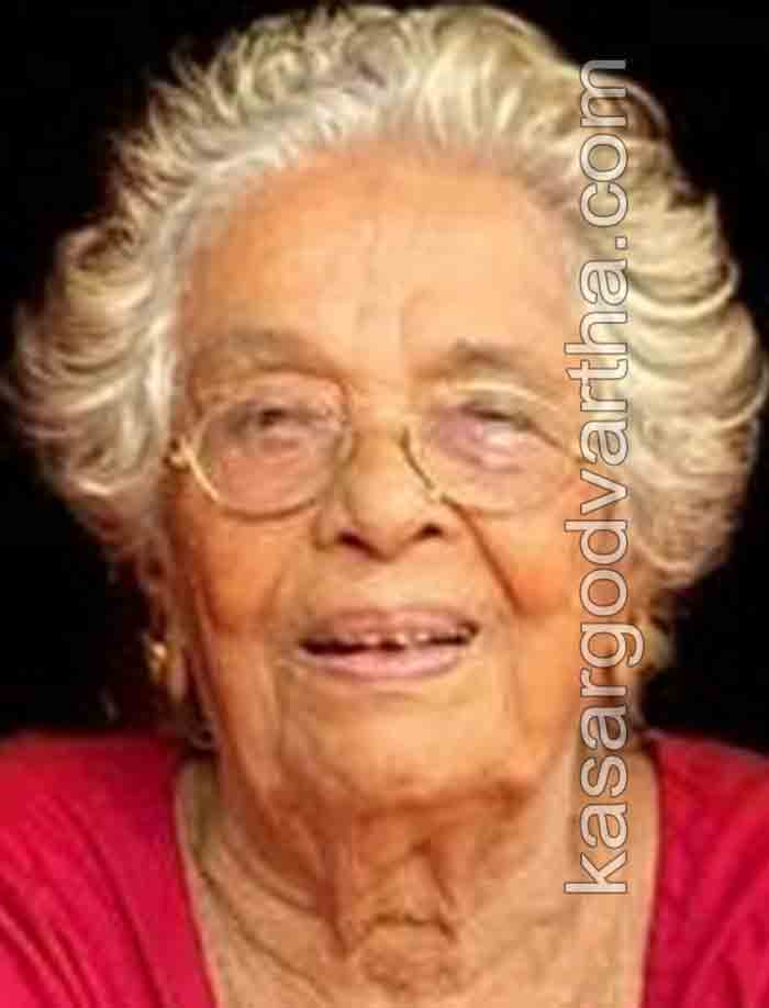 Kanhangad, News, Obituary, Kerala, Lakshmi Amma of Madikkai passed away